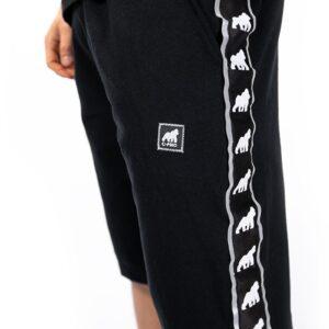 Reflective ribbon shorts