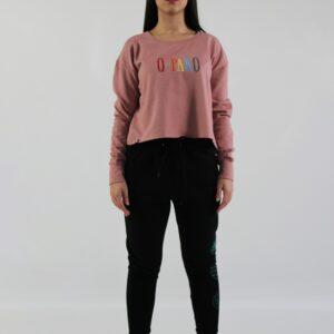 Serif Sweatshirt woman