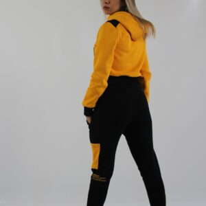 Gold Pants woman